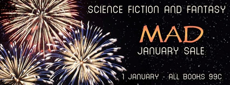 Science Fiction and Fantasy Mad January Sale